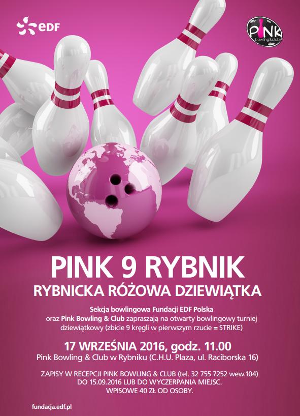 PINK NINE - plakat
